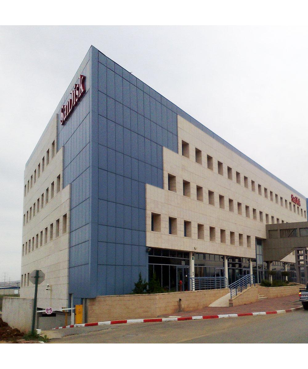 High Tech Modern Architecture Buildings: The High Tech 2000 Building, Kfar Saba